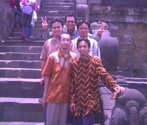 Jalan-jalan ke Borobudur